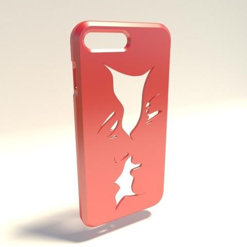 Homme et Femme.jpg Download STL file Iphone 4 Covers • 3D printable template, vincent91100