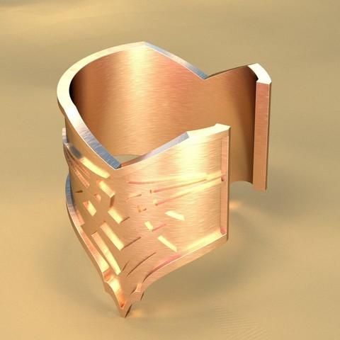 Download STL file Bracelet • 3D printing model, vincent91100
