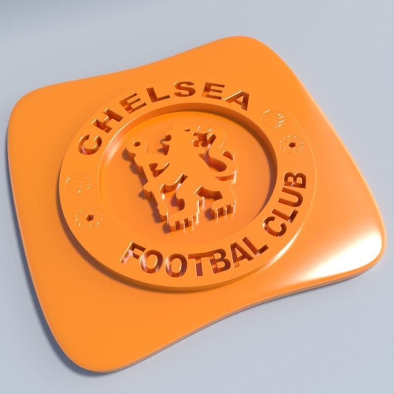 Chelsea.jpg Download STL file Football club logos • 3D printable template, vincent91100