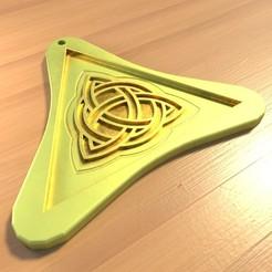 3D printer files Breton pendant, vincent91100