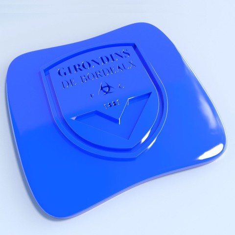 Bordeaux.jpg Download STL file Football club logos • 3D printable template, vincent91100