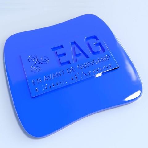 Guingamp.jpg Download STL file Football club logos • 3D printable template, vincent91100