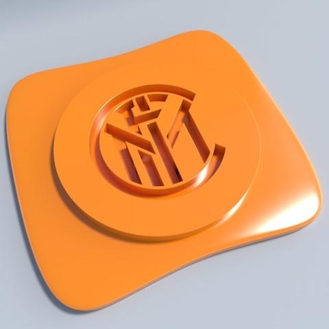 Inter Milan.jpg Download STL file Football club logos • 3D printable template, vincent91100