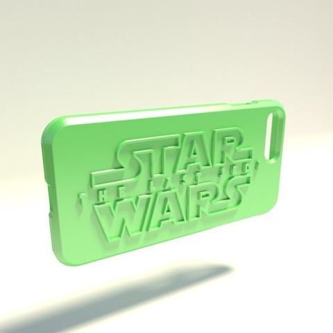 The last jedi.jpg Download STL file Iphone 4 Covers • 3D printable template, vincent91100