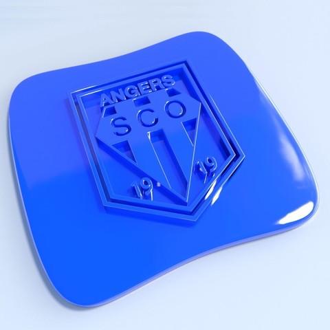 Anger.jpg Download STL file Football club logos • 3D printable template, vincent91100