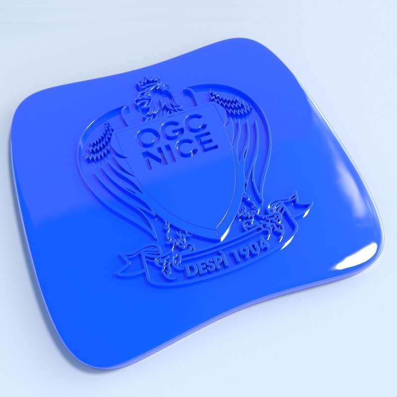 Nice.jpg Download STL file Football club logos • 3D printable template, vincent91100
