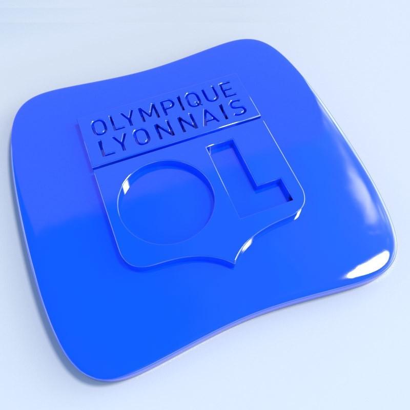 OL.jpg Download STL file Football club logos • 3D printable template, vincent91100