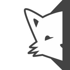 Download free STL logo llavero de zorro, astortaetom