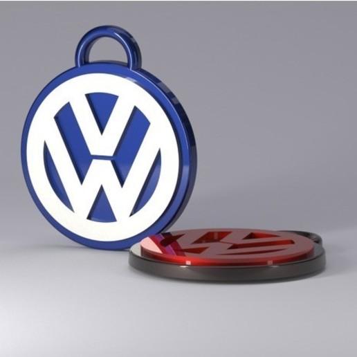 d1feecbd90b9fbac95767440646943c8_preview_featured.jpg Télécharger fichier STL gratuit porte-clés volkswagen • Design imprimable en 3D, astortaetom