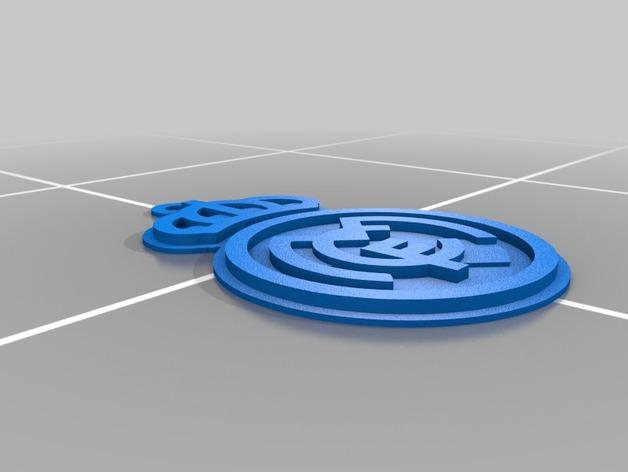 4c9095095d5de95af92a4b617d1eb287_preview_featured.jpg Télécharger fichier STL gratuit porte-clés véritable madrid • Plan à imprimer en 3D, astortaetom