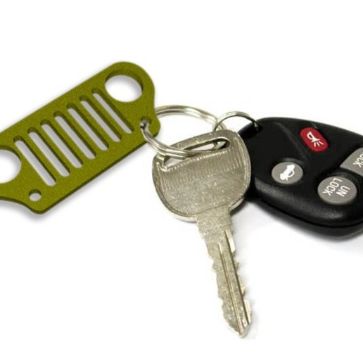 676ba16c3df0b6202f5472fb98a8b58d_preview_featured.jpg Télécharger fichier OBJ gratuit porte-clés jeep • Plan pour imprimante 3D, astortaetom
