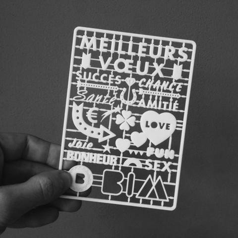 Free stl files bim agency 3d printed greeting card cults free stl files bim agency 3d printed greeting card jeremyrabier m4hsunfo