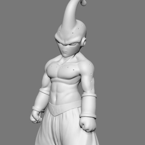 3D printer files Kid Buu Dragon Ball Z, Ben_M