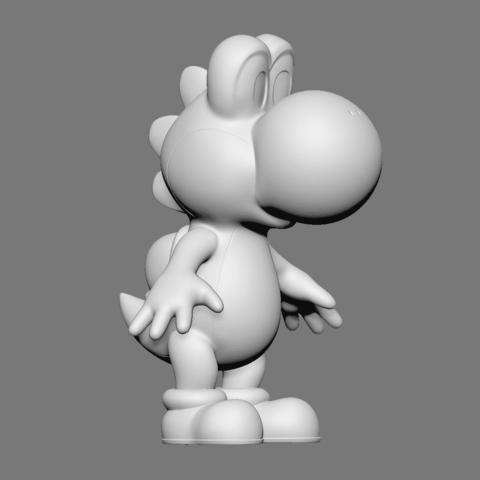 Yoshi_04.png Download free OBJ file Yoshi • Model to 3D print, Ben_M