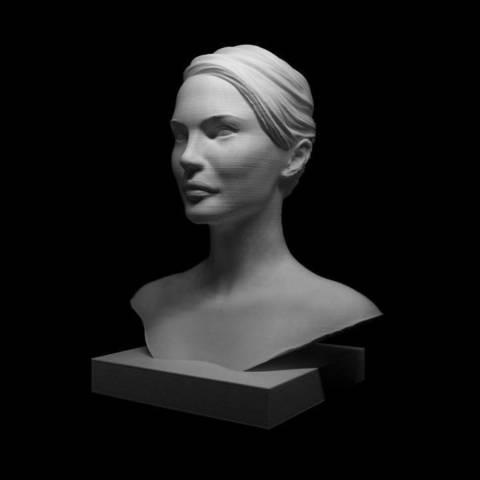 720X720-c9f9e08f0c5bb11a3bd2a2a5f2ad74602b190f64.jpg Download OBJ file Natalie Portman Bust • 3D printing object, Ben_M