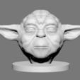 Download STL file Yoda, Ben_M