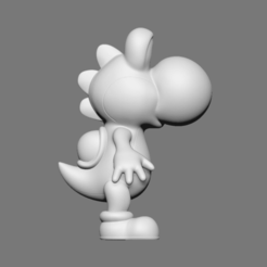 Free 3D printer files Yoshi, Ben_M