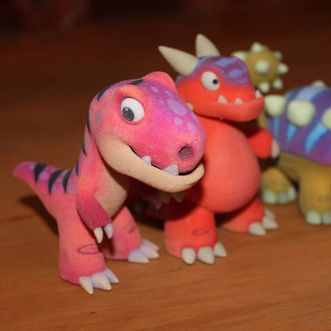 Download free STL file Rex from the makers of Dr Fluff • Design to 3D print, ThinkerThing