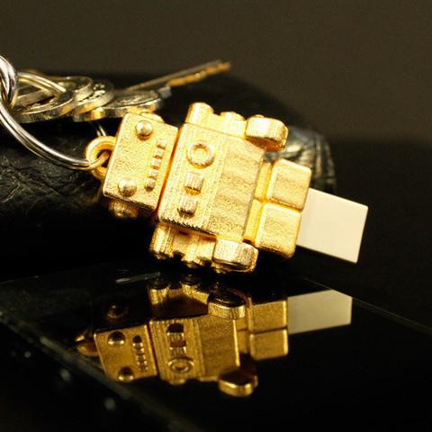 Fichier imprimante 3D gratuit Robot USB Dr Fluff, ThinkerThing