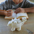 Free 3d printer designs Euoplocephalus from the makers of Dr Fluff, ThinkerThing