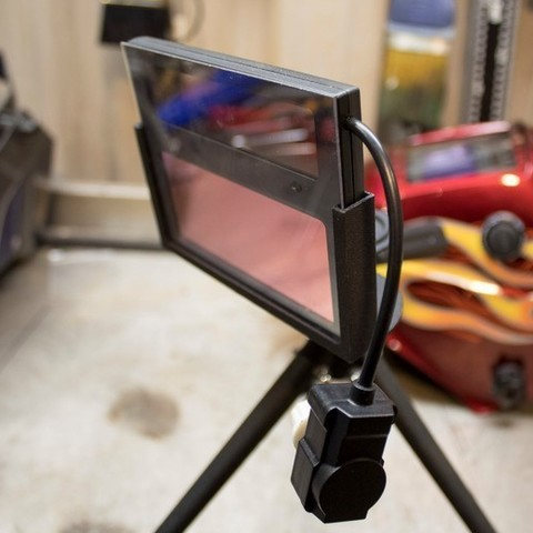 Download STL file GoPro Welding Camera Mount • 3D printable template, SuperbSTLfiles