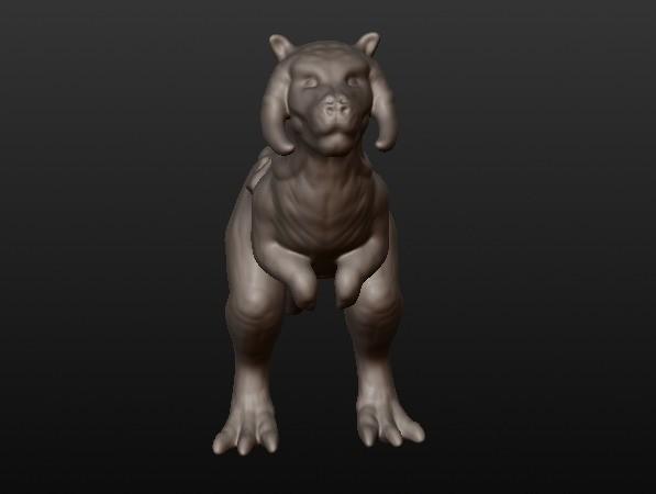 tauntaun1.jpg Download STL file Tauntaun • 3D printable design, Michaelwhites