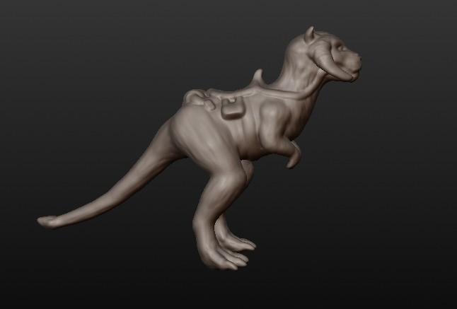 tauntaun2.jpg Download STL file Tauntaun • 3D printable design, Michaelwhites