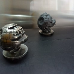 Free 3d model The Death Star 2, stars wars ships, Imprimiendo3D