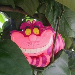 Download free STL files Cheshire Cat, Imprimiendo3D