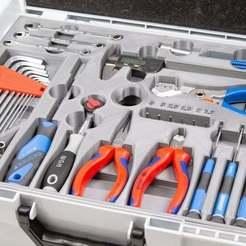 Télécharger modèle 3D gratuit Boîte à outils Inlay, colorFabb