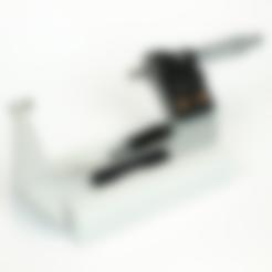 MicroMeter_stand.STL Download free STL file Micrometer 75 - 100 holder • 3D printer template, colorFabb