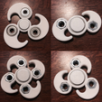 Download free STL file Customizable Yin-Yang Fidget Spinner • 3D print model, Lucina