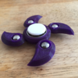 Capture d'écran 2017-08-22 à 09.51.20.png Download free STL file Customizable Edgy Yin Yang Fidget Spinner (pick-a-weight) • 3D printable model, Lucina
