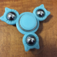 Download free STL file Cat (pick-a-weight) Fidget Spinner • 3D print design, Lucina