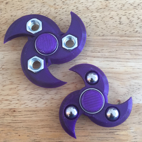 Capture d'écran 2017-08-22 à 09.40.20.png Download free STL file Deadly Wave Fidget Spinner (pick-a-weight) • 3D print object, Lucina