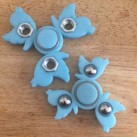 Download free STL file @twitter #fidgetspinner • 3D printing template, Lucina