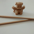 Capture d'écran 2017-01-18 à 12.01.36.png Download free STL file Panda chopsticks rests / holder • 3D printer model, Atomicosstudio