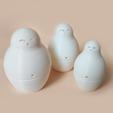 3D printer models Matryoshka (print-in-place), Atomicosstudio