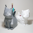 Descargar archivos 3D Polycats (Mascotas de escritorio), Atomicosstudio