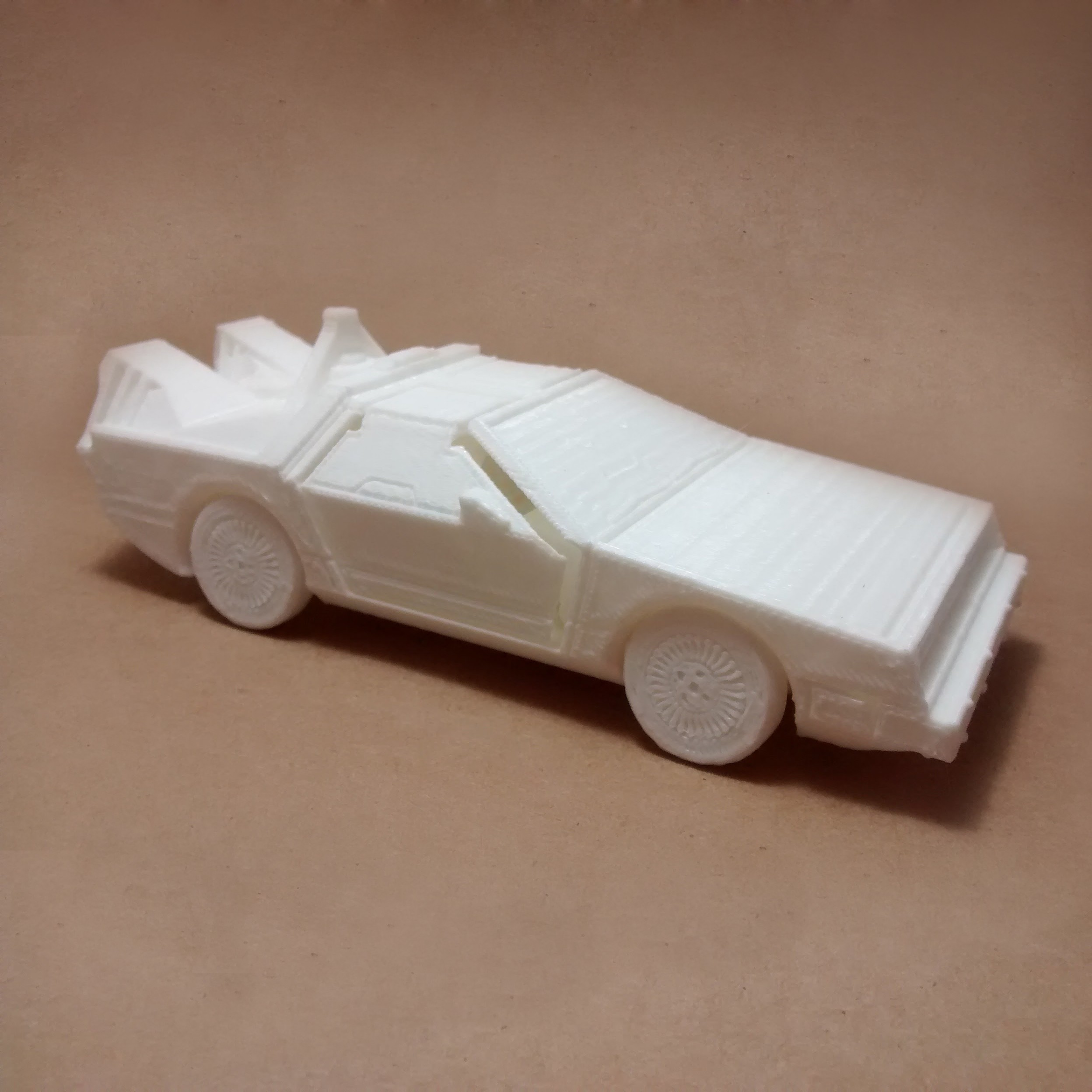 1.jpg Download STL file DeLorean DMC-12 (Back to the Future) PRINT-IN-PLACE • Template to 3D print, Atomicosstudio