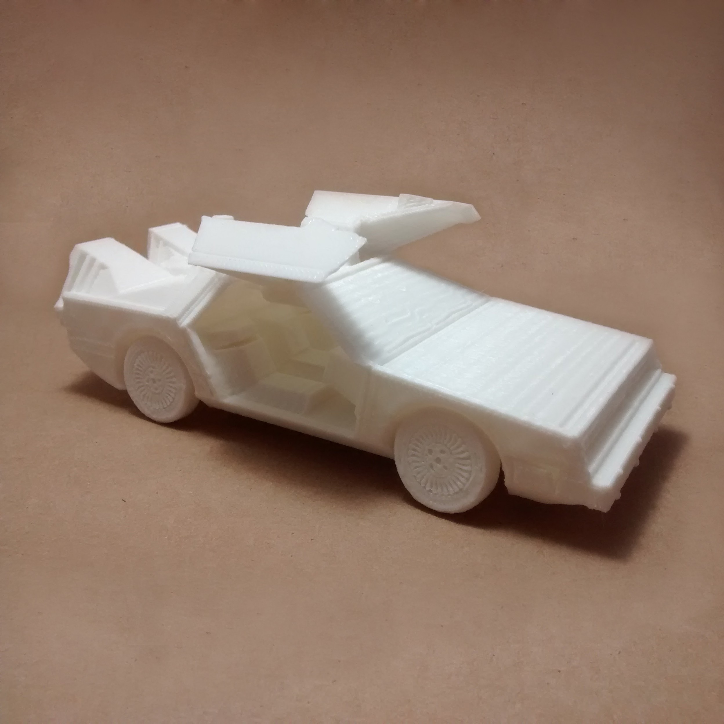 4.jpg Download STL file DeLorean DMC-12 (Back to the Future) PRINT-IN-PLACE • Template to 3D print, Atomicosstudio