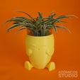 Download STL file Happy Carrot Planter, Atomicosstudio