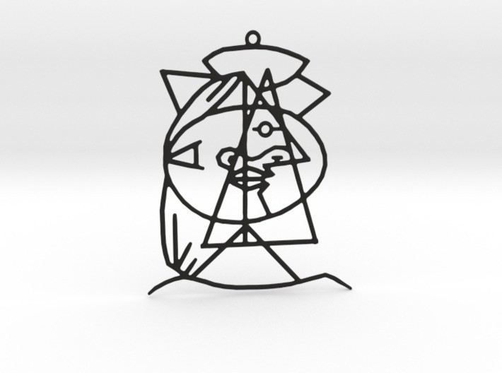 710x528_16427876_9624980_1478813223.jpg Download STL file Picasso Pendant • 3D printable design, Merve