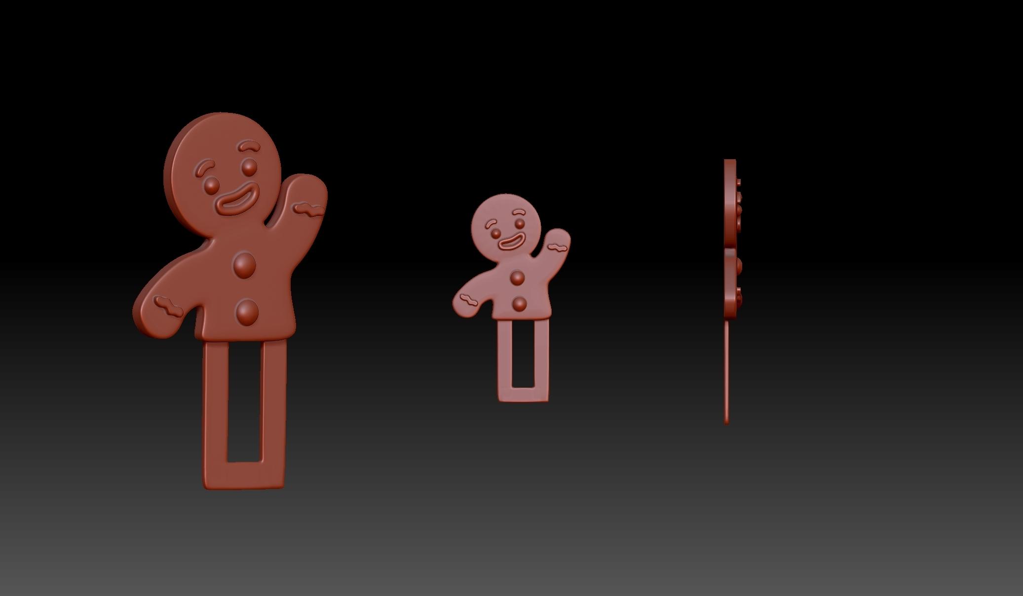 ZBrush Document.jpg Download OBJ file Christmas Gift • 3D printable design, Merve