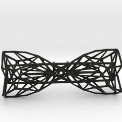 Archivos 3D Pajarita Geométrica, Merve