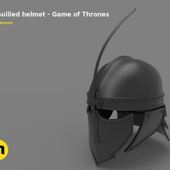 Download 3D print files Unsullied Helmet, 3D-mon