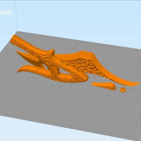 mekleth-parts2.jpg Download OBJ file Klingon Mek'leth - Star Trek • Model to 3D print, 3D-mon