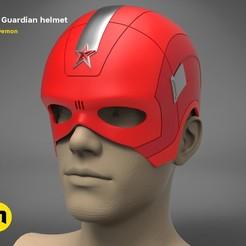 Descargar STL El casco del Guardián Rojo, 3D-mon