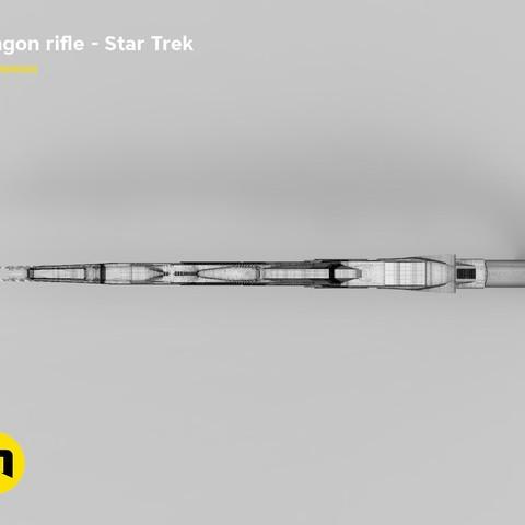 render_rifle_mesh.803.jpg Download STL file Klingon rifle • Model to 3D print, 3D-mon