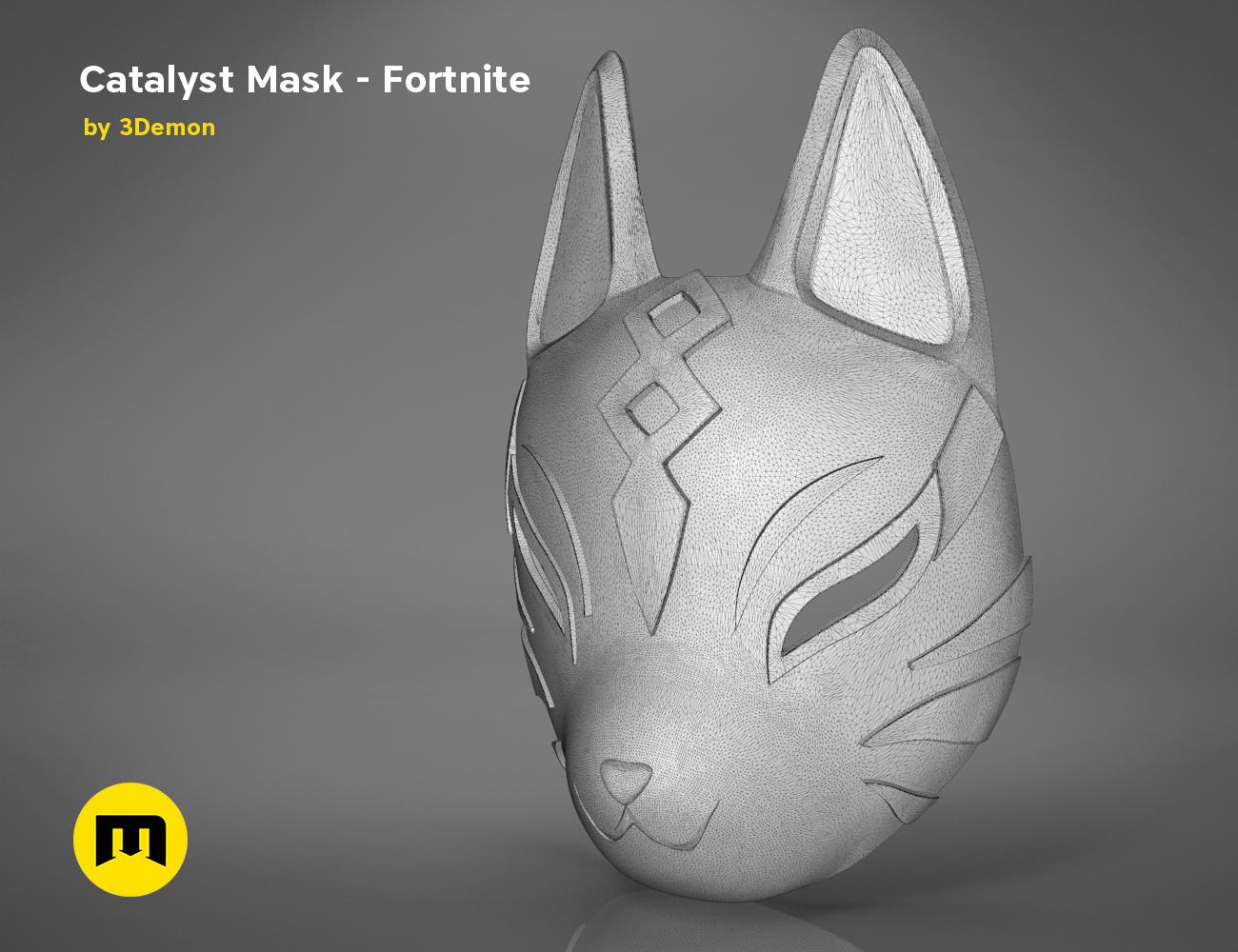 catalyst mask _ keyshot-main_render.412.png Download STL file Fortnite Catalyst Mask • 3D print model, 3D-mon